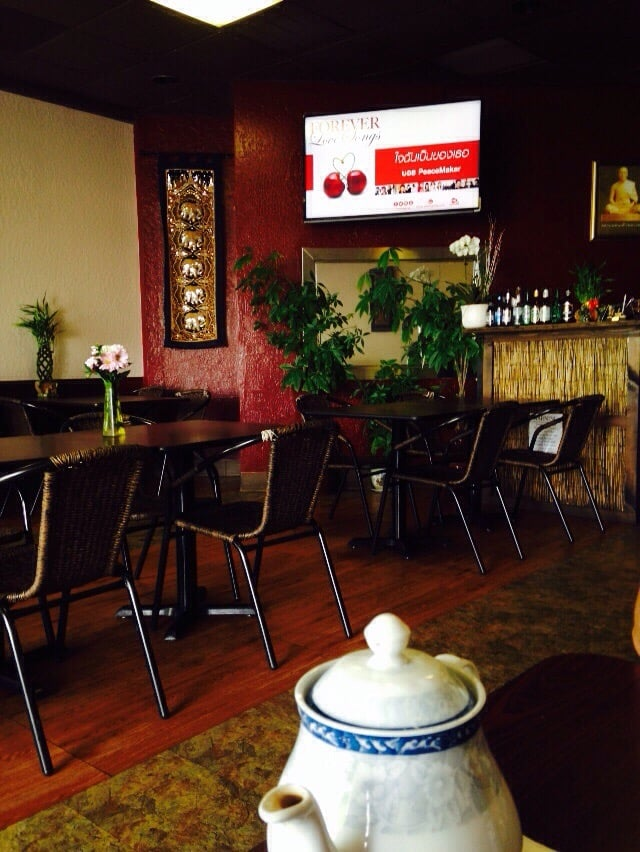 Dining area yelp for Ano thai lao cuisine menu