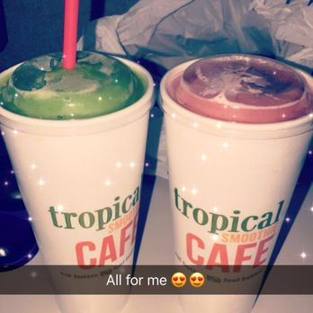 tropical smoothie cafe lean machine smoothie