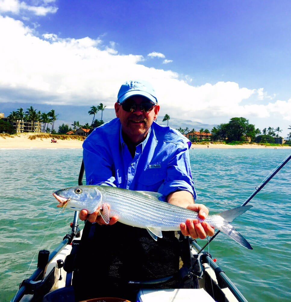 We are now doing fly fishing tours off my pro angler 17 for Fly fishing maui