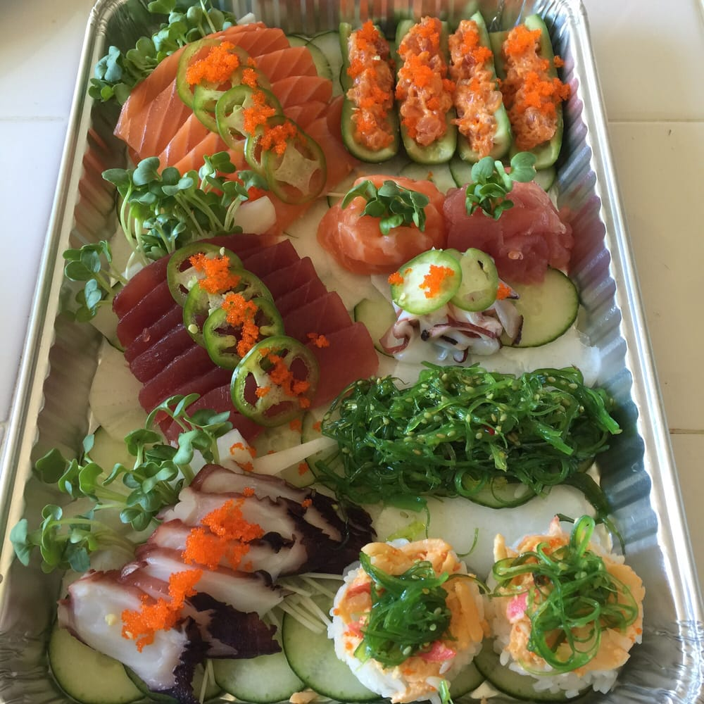 Sashimi platter thanks to sunh yelp for Sunh fish sacramento