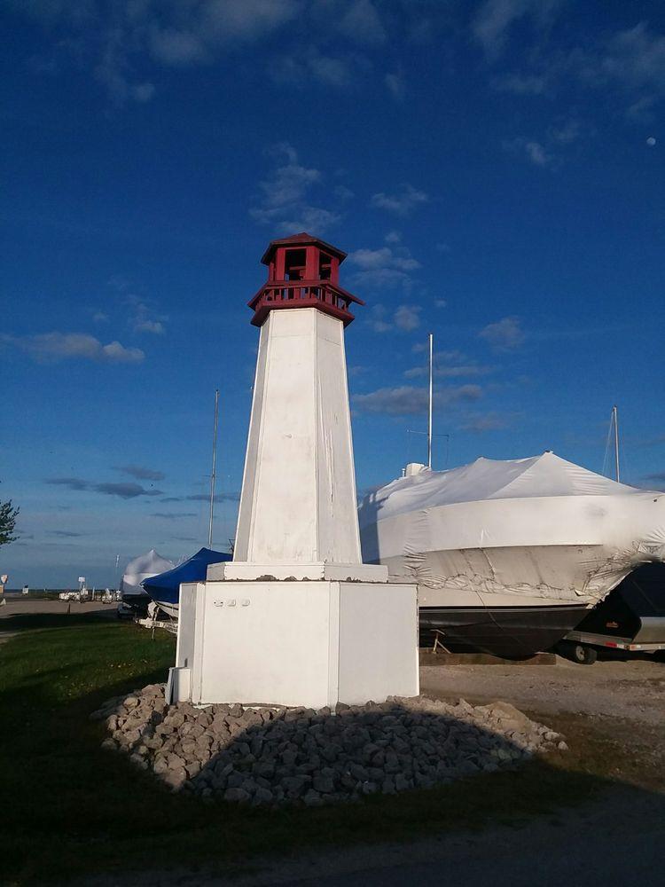 Linwood Beach Marina & Campground: 135 S Linwood Beach Rd, Linwood, MI