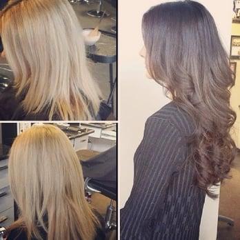 Photo Of Salon Blunt Edmonton Ab Canada Shoulder Length Blonde To