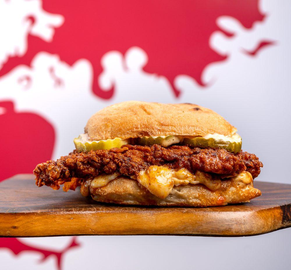 Rocky's Hot Chicken Shack: 420 Laurens Rd, Greenville, SC