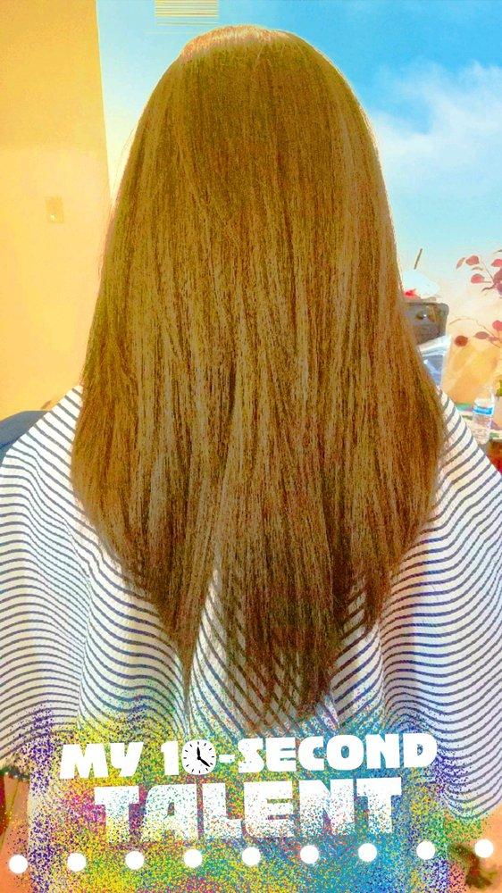 V Shape Layer Haircut Yelp