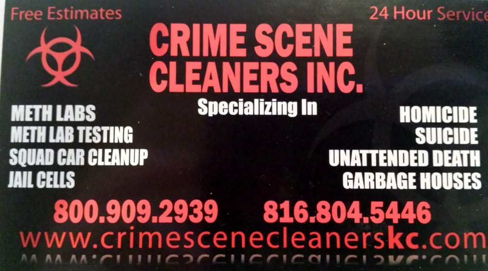 Crime Scene Cleaners: Shawnee, KS