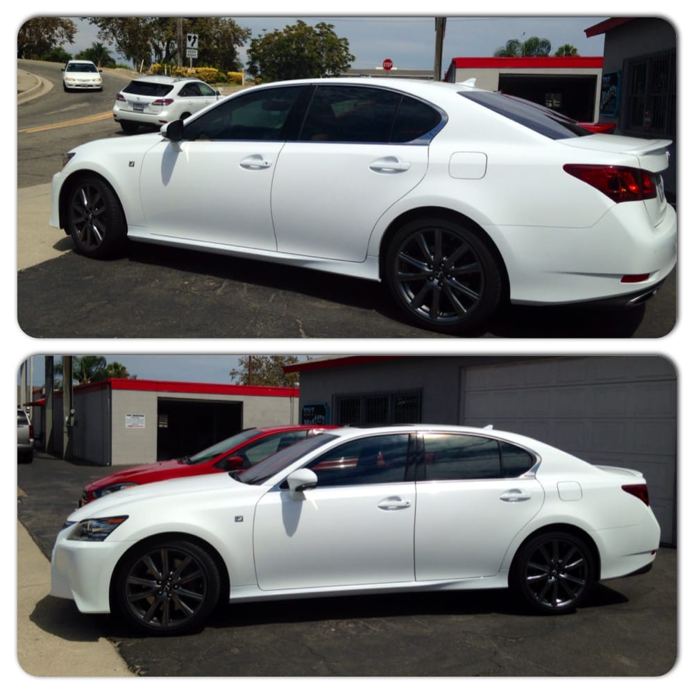 2014 lexus gs350 tint with 3m crystalline 50 on all the. Black Bedroom Furniture Sets. Home Design Ideas