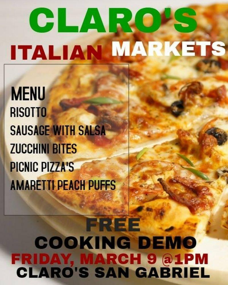 Claro's Italian Market: 1003 E Valley Blvd, San Gabriel, CA