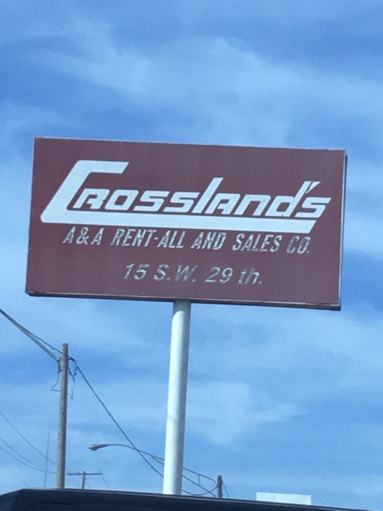 Crossland's Rent-All & Sales