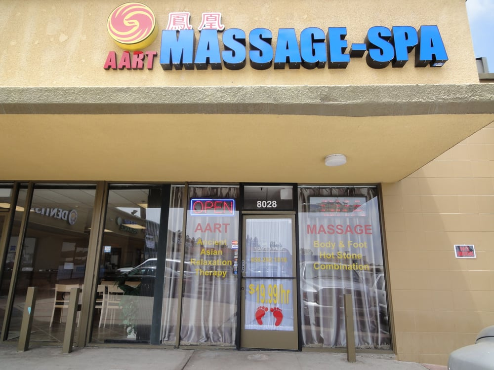 Aart massage spa massage 8028 clairemont mesa blvd for 7 image salon san diego