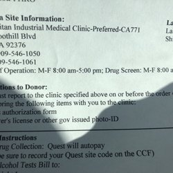 Metropolitan Industrial Medical Clinic Medical Centers 10444