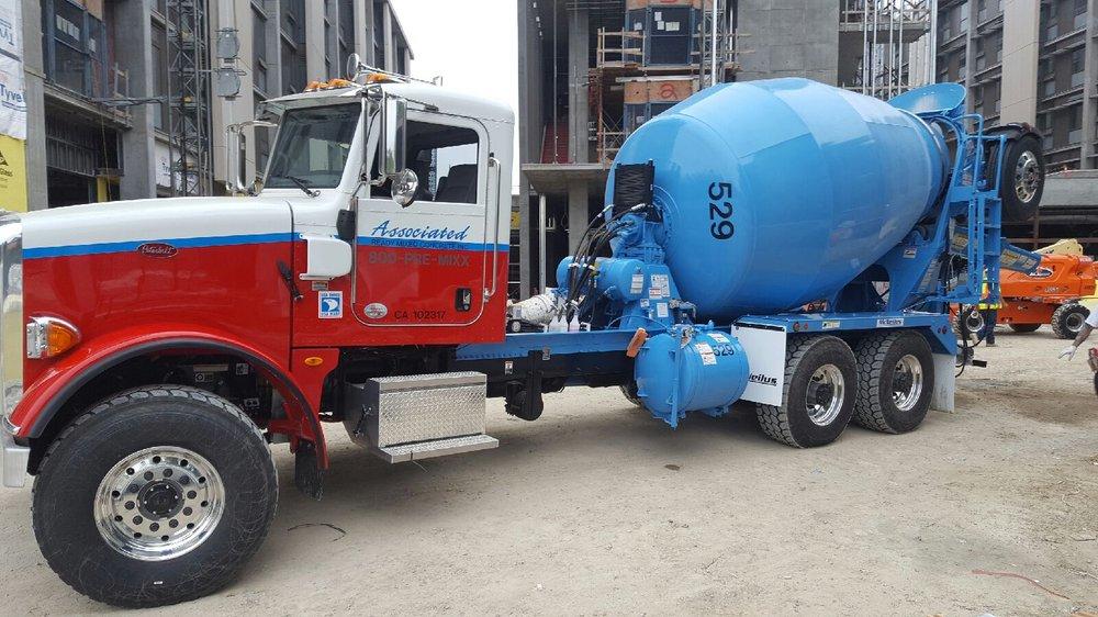 Associated Cement Companies : Associated ready mix concrete contractors mount