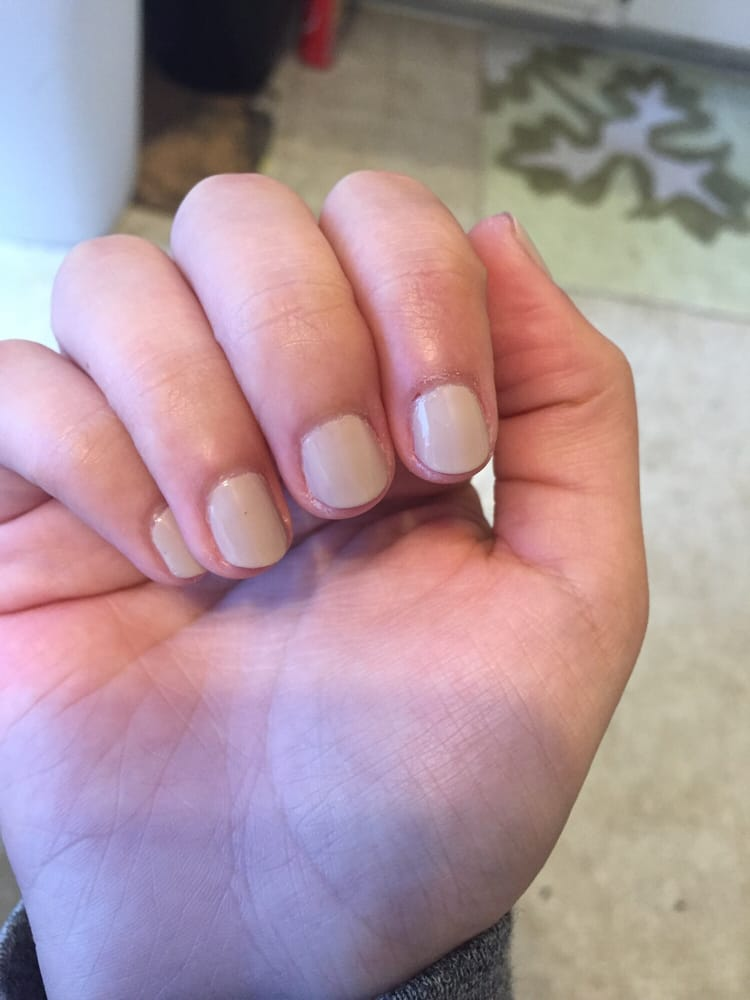 Too dry around the cuticle area - Yelp