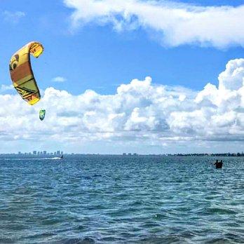 Photo Of South Florida Kiteboarding Miami Fl United States My Son Taking