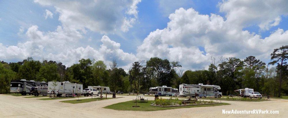 New Adventure RV Park & Horse Hotel: 2080 Fm 222, Coldspring, TX
