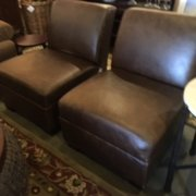 Superieur Pottery Barn Bar Chairs Photo Of Found Interiors   Kirkland, WA, United  States. Pottery Barn Leather Chairs ...