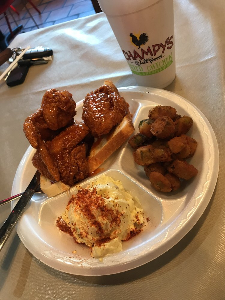 Champy's Famous Fried Chicken: 10695 Hwy 119, Alabaster, AL