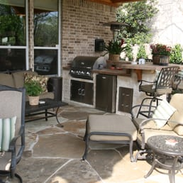 Photo Of Bellaire Pavers   Houston, TX, United States. Custom Flagstone  Patio With