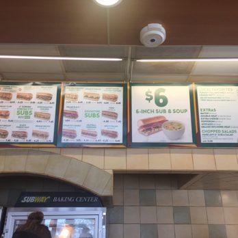 Subway Restaurant San Marcos Ca