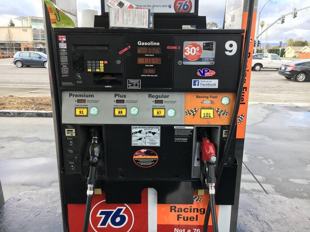 Almaden 76 and Racing Fuel: 3010 Almaden Expy, San Jose, CA