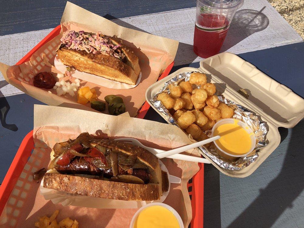 Dogtown Sausage: 5916 International Blvd, Oakland, CA
