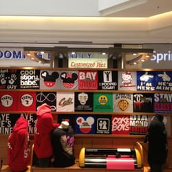 Customized teez men 39 s clothing 214 sun valley mall for Meadowood mall custom t shirts