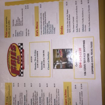 Food Places In Copperas Cove Tx