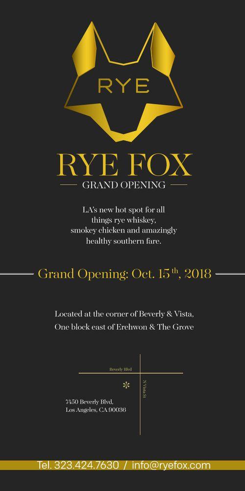 Rye Fox
