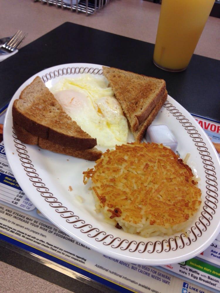 2 eggs breakfast