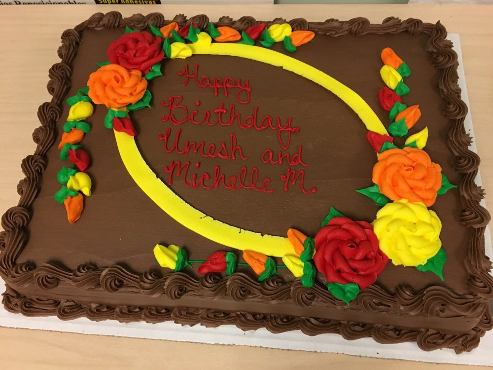 This Birthday Cake Was Liked By All At The Office Chocolate Mousse