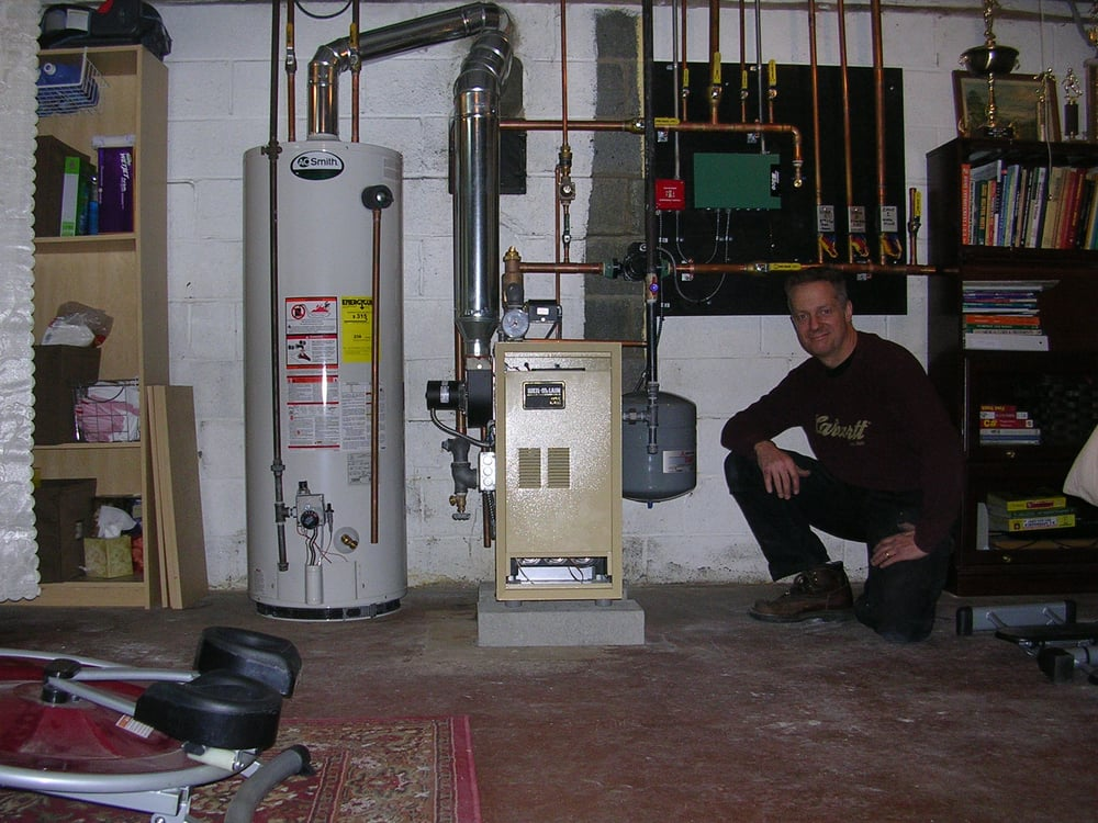 Weil McLaine gas fired 3 zone hot water boiler - Yelp