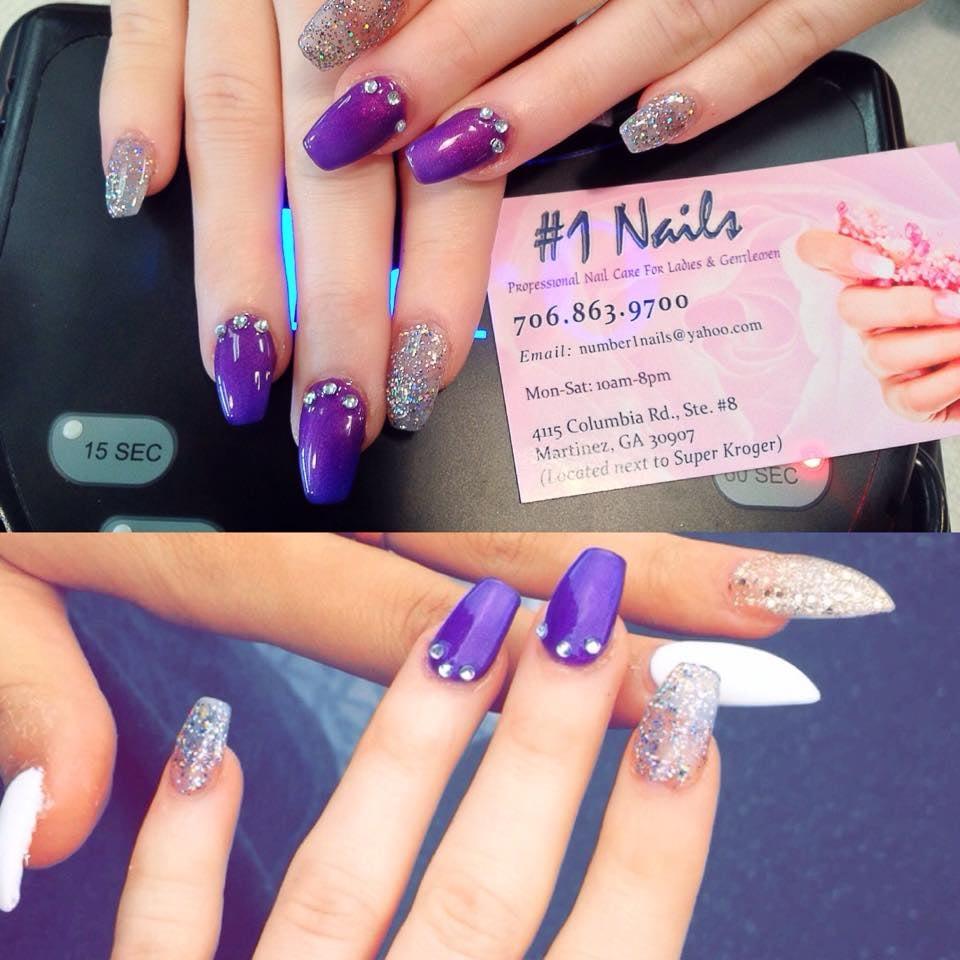 #1 Nails - CLOSED - 55 Photos & 17 Reviews - Nail Salons - 4115 Columbia  Rd, Augusta, GA - Phone Number - Yelp