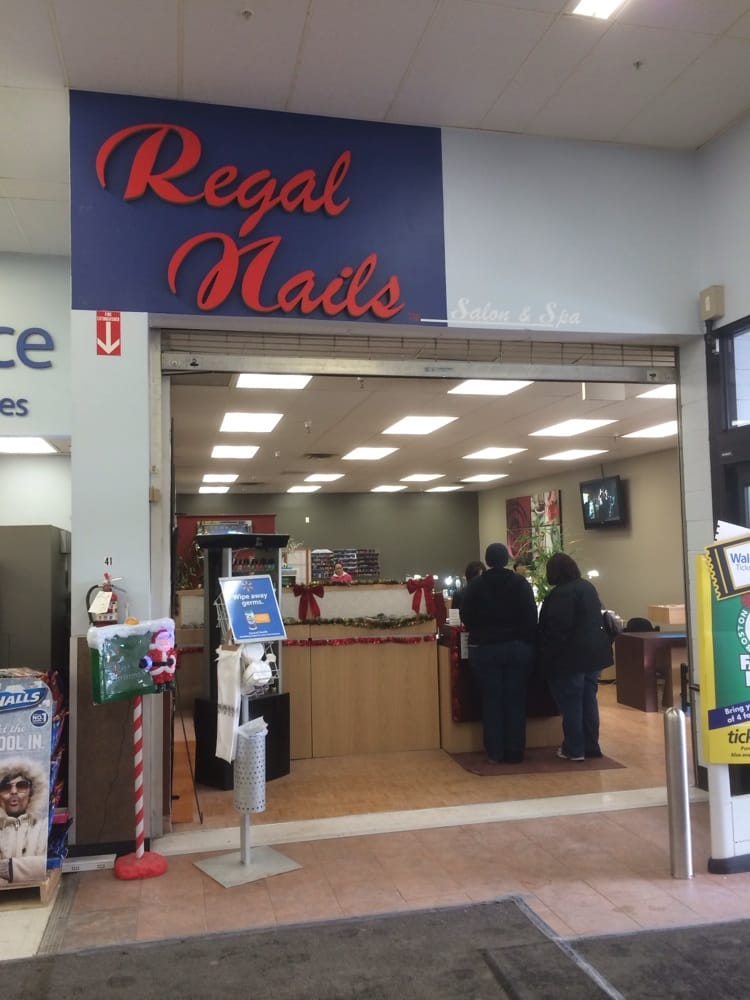 Regal nails nail salons 250 hartford ave bellingham for 24 hour nail salon queens ny