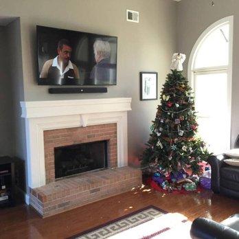Photo Of Ideal Tv Installation Atlanta Ga United States Mounted Above