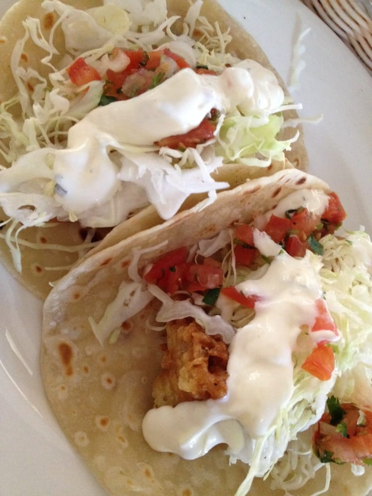 Fish tacos with handmade flour tortillas yelp for Fish grill pico