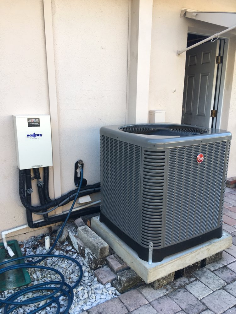 Rheem heat pump with hot water recovery - Yelp