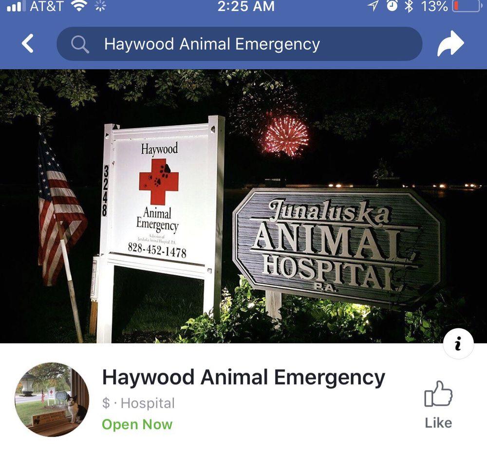 Haywood Animal Emergency: 3248 Asheville Rd, Waynesville, NC