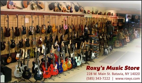 Roxy's Music Store: 228 W Main St, Batavia, NY