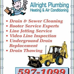 Allright Plumbing Heating & Air Conditioning - Heating ...