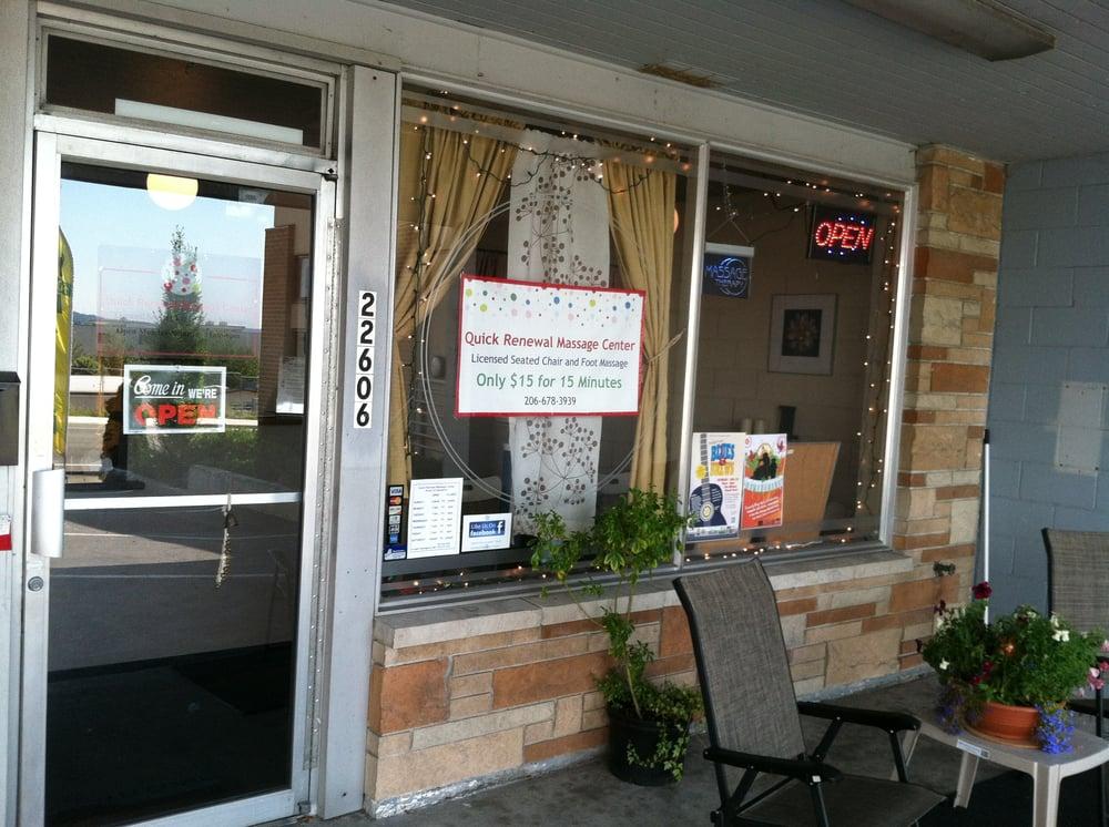 Quik Massage: 22606 Marine View Dr S, Des Moines, WA