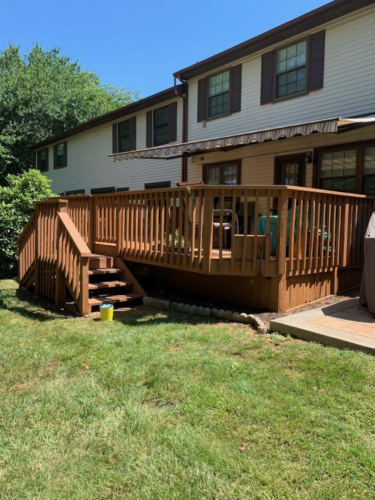Deck Restore: 126 Nokomis Trl, Medford Lakes, NJ