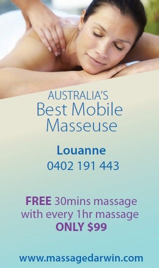 massage taxi darwin phone number