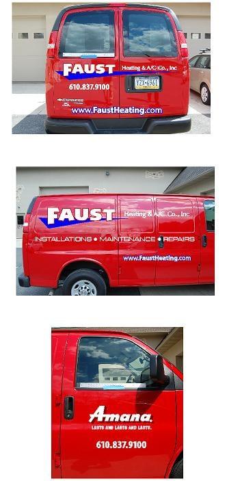 Faust Heating & A/C Co: Bath, PA