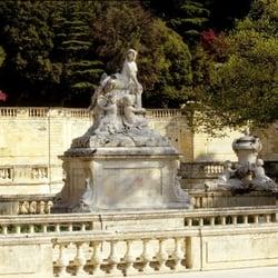 Nymphee De Nimes Lieu Batiment Historique Jardins De La