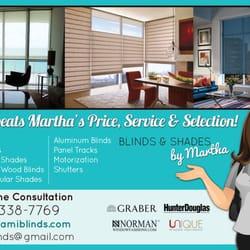 Blinds Shades By Martha Shades Blinds Miami FL Phone
