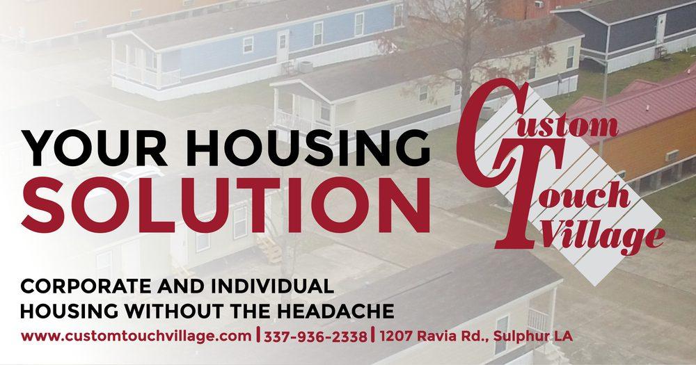 Custom Touch Village - Sulphur: 1207 Ravia Rd, Sulphur, LA