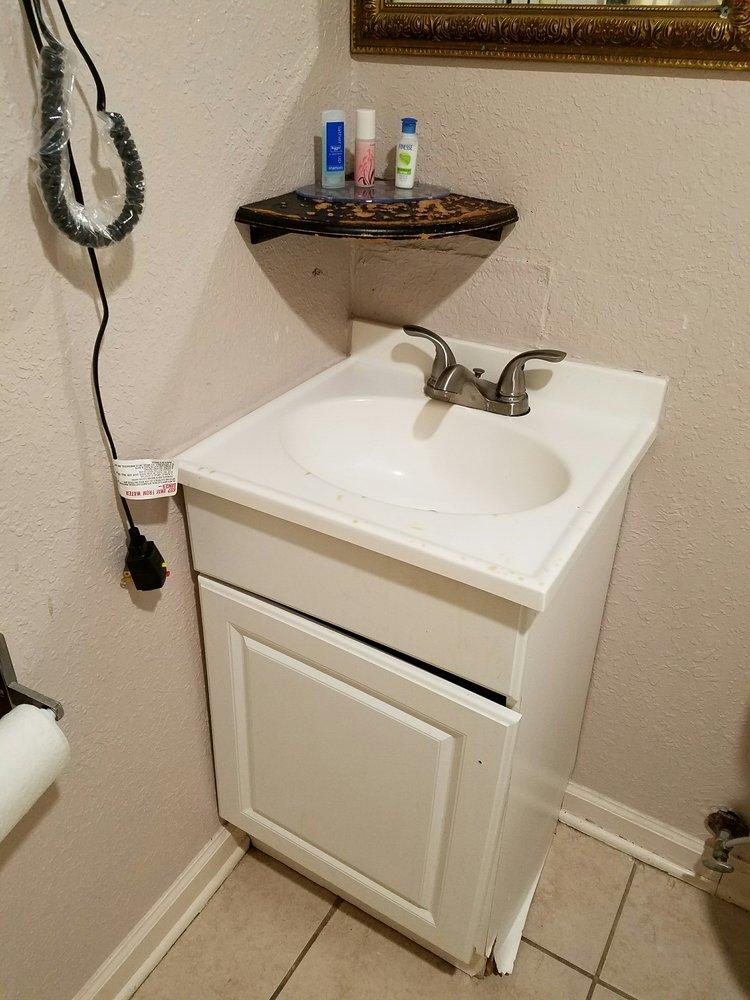 Bathroom Vanities Yelp the bathroom vanity was coming apart due to water damage - yelp