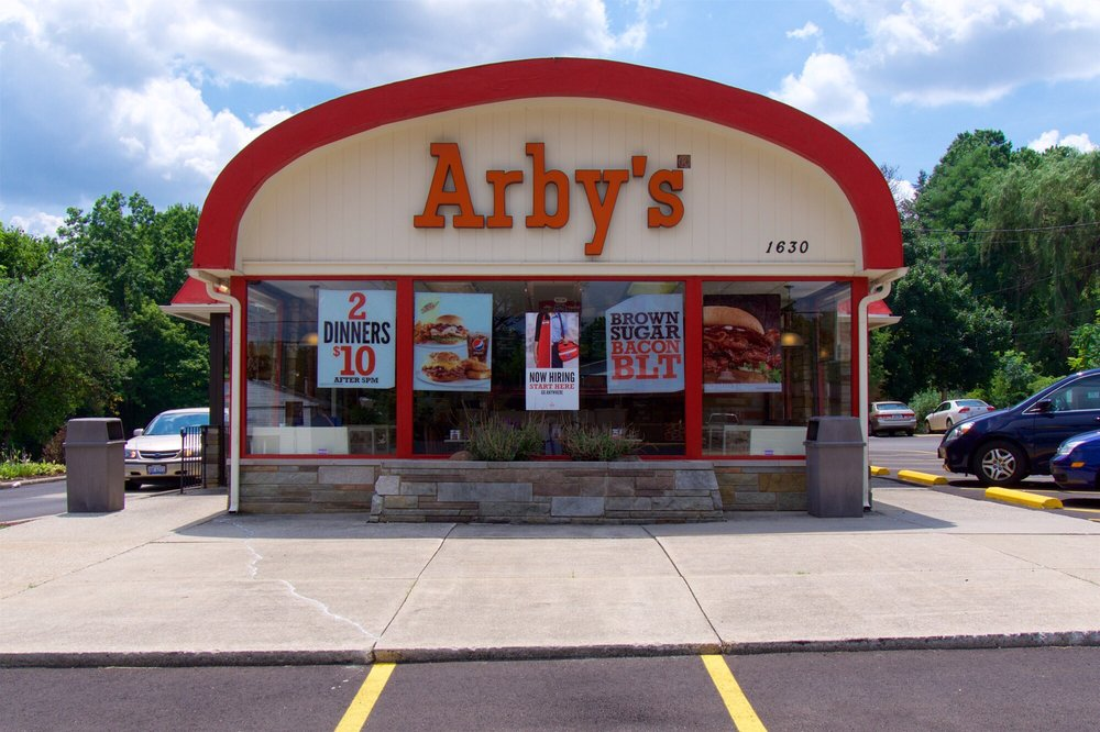Arby s roast beef drive in takeaway fast food 1630 e for Arby s 2 for 5 fish