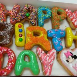 Donut Birthday Cake Dallas
