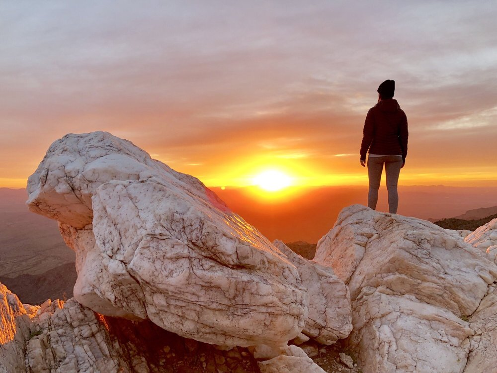 Quartz Peak - Sierra Estrella Mountains: Rainbow Valley, AZ