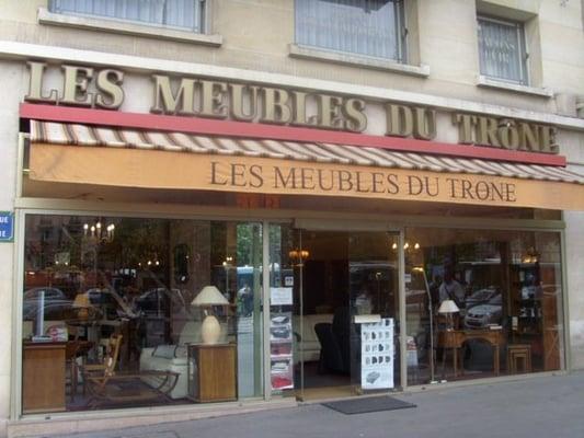 Les Meubles Du Trone Magasin De Meuble 18 Rue Vignoles Pere